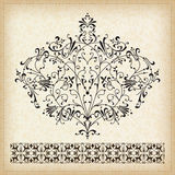 Set of  ornaments. Royalty Free Stock Image