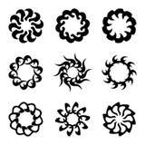 Set of ornate design elements Royalty Free Stock Image