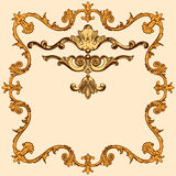 Set ornate Royalty Free Stock Photos