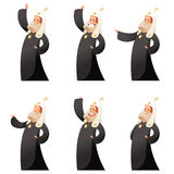 Set of orthodox priests Royalty Free Stock Images