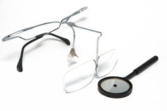 Set of otolaryngology tools Stock Photo