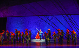 "Set out on a voyage-Dance drama ""The Dream of Maritime Silk Road"" Royalty Free Stock Images"