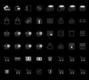 Set of Outline stroke Shopping icons Vector illustration Stock Photo