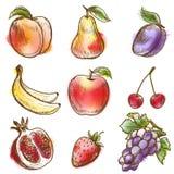 Set owoc Zdjęcie Royalty Free