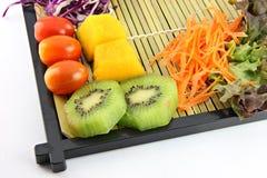 Set owoc i warzywo dla zdrowie. Obrazy Stock