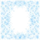 Set płatki śniegu fotografia royalty free