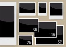 Set płomienie (na skala 1: 1) Zdjęcie Royalty Free