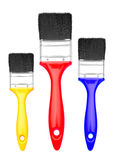 Set of Paint Brush Royalty Free Stock Images