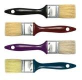 Set of paint brushes Stock Photography