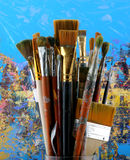 Set paintbrush Stock Images