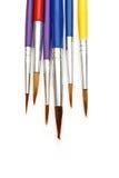 Set of paintbrushes Royalty Free Stock Photography