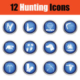 Set of painting icons. Stock Photos