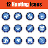 Set of painting icons. Stock Photo