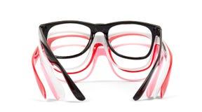 Set of pairs eyeglasses Stock Photography