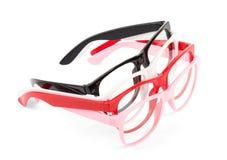 Set of pairs eyeglasses Royalty Free Stock Photography