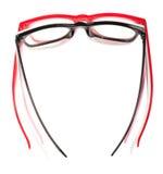 Set of pairs eyeglasses Royalty Free Stock Images