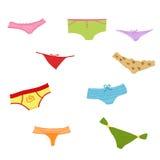 Set of panties Royalty Free Stock Images