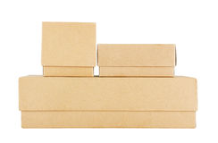 Set of Paper Box Royalty Free Stock Photography