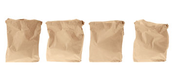 Set paper package stock image