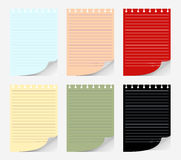 Set of papers Royalty Free Stock Photo