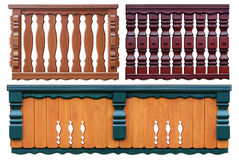 Set_of_parapets Stock Photos