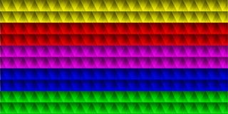 Set paski trójboki Obraz Stock