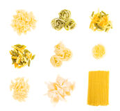 Set of pasta Stock Images