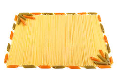 Set of pasta Royalty Free Stock Images