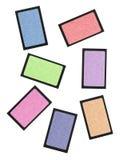 Set of pastel eyeshadows isolated on white Royalty Free Stock Image