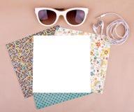 Set of pattern paper Royalty Free Stock Photo