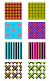 Set of pattern. And textures, illustration vector illustration