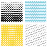 Set Pattern zigzag. Set wave pattern. Pattern in Blue zigzag, yellow and black waves. Graphic vector zigzag vector illustration
