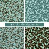 Set of patterns Royalty Free Stock Photos