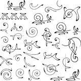 Set of patterns for design Stock Photos