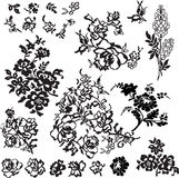 Set of patterns for design Royalty Free Stock Images