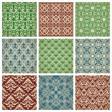 Set Of Patterns Stock Images