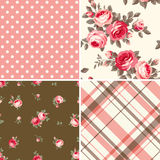 Set of patterns Stock Photography