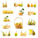 Set of pears Stock Image