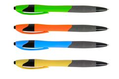 Set of pen Stock Photography