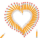 Set of Pencils Royalty Free Stock Image