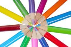 Set of pencils Royalty Free Stock Image