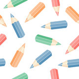 Set of pencils Royalty Free Stock Images