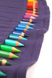 A Set of Pencils in the Pack Royalty Free Stock Photo