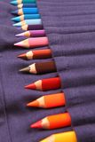 A Set of Pencils in the Pack Stock Photo