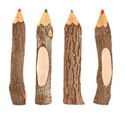 Set of pencils Royalty Free Stock Photo