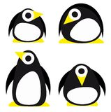 Set of penguin Royalty Free Stock Photography