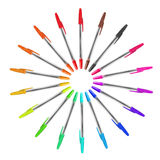 Set of pens Stock Images