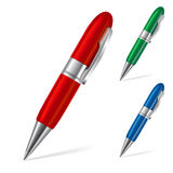 Set of pens Royalty Free Stock Photo