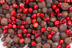 Set of pepper heaps. Royalty Free Stock Image