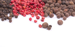 Set of pepper heaps Stock Photo